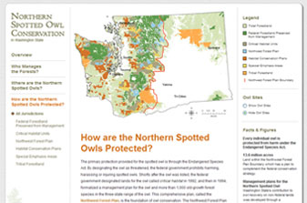 WFPA Northern Spotted Owl Conservation Website